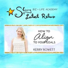 NEW COURSE RELEASE: HOW TO ALIGN TO YOUR GOALS
