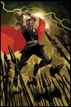 Thor God of Thunder #1 (Daniel Acuna Artist Variant Cover)