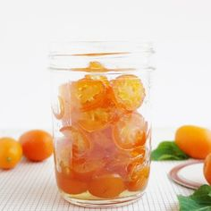 Candied Kumquats & Simple Syrup