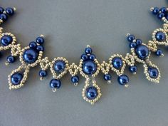 FREE beading pattern for Lorraine necklace