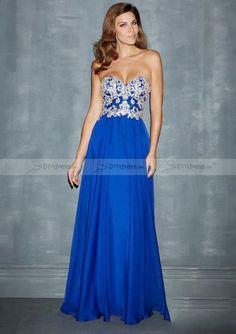 Beaded Bodice Prom Dress&Ballkleid