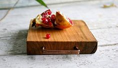 Red Cherry Wood Chopping Board from Italy