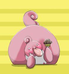 Lickilicky cupcake eater new favorite #pokemon