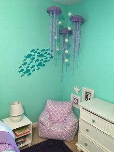 mermaid bedroom decor. Mermaid Bedroom Room  and room