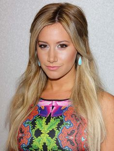 """Ashley Tisdale Wears a Busy-Print Neopene Dress for """"InStyle"""" Summer Soiree"""