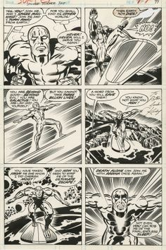SILVER SURFER GRAPHIC NOVEL PAGE 97