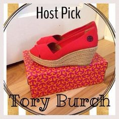 💥30% off 3+ item bundles💥 Authentic Tory Burch Filipa Espadrilles in red. Worn twice and still in excellent condition. Comes with original box! Run just a little small IMO. Please note that these pictures were taken when these were unworn. They have now been worn approximately twice and the bottoms have minimal wear. New pictures will be added soon. Tory Burch Shoes