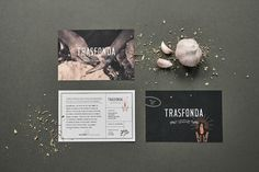 "Brand Identity for Trasfonda by Menta. ""Trasfonda is a restaurant that takes inspiration from traditional home recipes and fondas of Guadalajara. Using local and Mexican ingredients, Chef Paco Ruano, creates a menu that honours our authentic corn,..."