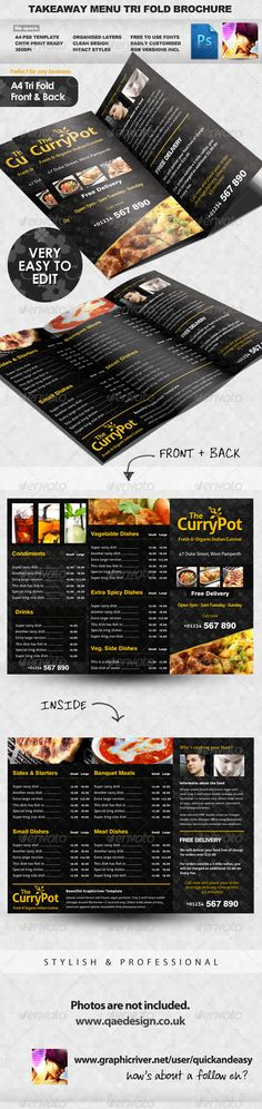 17 Best images about menu designs on Pinterest Fonts, Restaurant