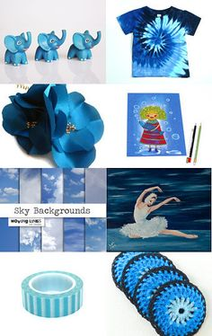A Little Blue by Cynthia Sillitoe on Etsy--Pinned with TreasuryPin.com