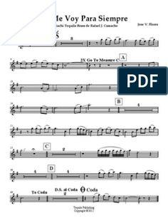 7 Ideas De Vicente Fernandez Partituras Partituras Trompeta Partituras Digitales