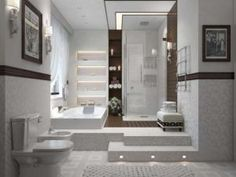 Cool Bathroom Trends in 2015 with Modern Sinks and White Decoration Room Small Basement Bathroom, Small Space Bathroom, Bathroom Floor Plans, Bathroom Plumbing, Bathroom Layout, Small Spaces, Interior Lighting, Lighting Design, Complete Bathroom Sets