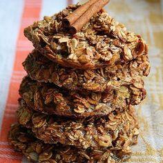 Низкокалорийное печенье из мюсли