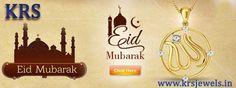 Eid Mubarak  #eid #mubarak www.krsjewels.in