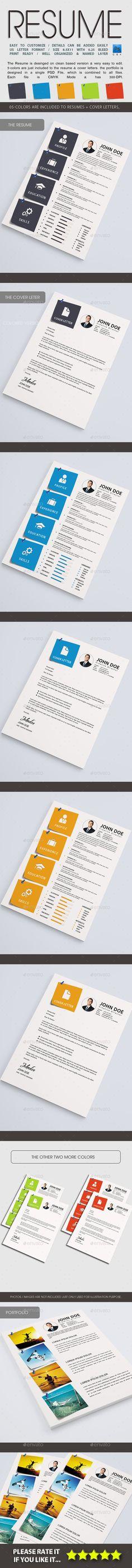 Resume - Resume Template Cv ideas, Simple resume template and - photoshop resume template