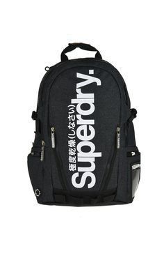 d300555019 Superdry Mega Tarp Backpack Navy from Mainline Menswear Australia -  Superdry Mega Tarp Backpack In Dark Navy And White One large zip entry comp