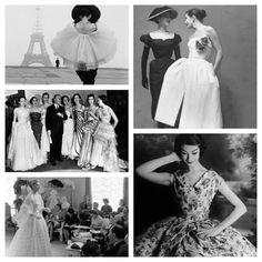 The most glamourous of decades was probably the 1950′s with designers as: Christian Dior, Cristóbal Balenciaga, Pierre Balmain, Jaques Fath, and of course Coco Chanel.    Probably more than anyone else, Christian Dior redefined the look of women after the war years, with his bell suit and tiny waists. Grace Kelly was a great fan of this style. A master at shapes and silhouettes, he died before the decade was out in 1957.