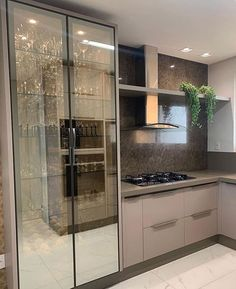 Fantastic kitchen style are offered on our website. Kitchen Room Design, Kitchen Cabinet Design, Modern Kitchen Design, Home Decor Kitchen, Kitchen Furniture, Interior Design Living Room, Furniture Cleaning, Kitchen Cabinets Models, Glass Kitchen Cabinets