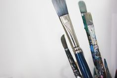 Creative Space / paint brushes