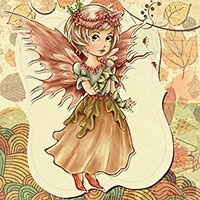 Digital Stamps, Scrapbooking, Crafts, Artisan Resources, cardMaking, Paper Crafts, Digital Crafting by The Paper Shelter Autumn Enchantment - Digital Stamp - FREEBIE!Click HERE to direct download!!!Kit includes: A zip file containing 6 digital image files in JPG and PNG formats. Each image file is at 300dpi resolution. The PNG file comes on  a transparent background and JPG on white background. The set comes with the digital stamp ready to color (outlines), as well as