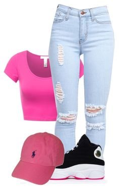 """Untitled #587"" by alainnajones ❤ liked on Polyvore featuring Polo Ralph Lauren, women's clothing, women, female, woman, misses and juniors"