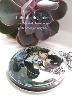 little sheith garden charm via law's ye not so olde shop. Click on the image to see more!