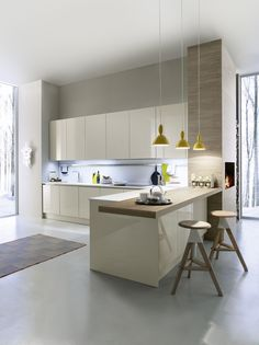 Minimal yet Elegant Kitchen Design Ideas - Page 3 of 3 - The Architects Diary Minimal Kitchen Design Inspiration is a part of our furniture design inspiration series. Minimal Kitchen design inspirational series is a weekly showcase Minimal Kitchen Design, Minimalist Kitchen, Interior Design Kitchen, Modern Minimalist, Minimalist Interior, Minimalist Decor, Minimalist Living, Minimalist Bedroom, Interior Ideas