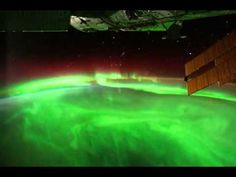 A timelapse video of Aurora Australis from space. #astronomy #meteorology #aurora
