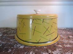Vintage Cake Plate Cake Taker Cake Carrier Nesco Mid Century Cake Tin on Etsy, $20.00