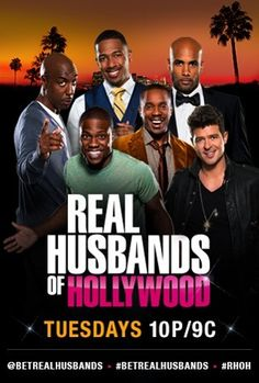 Real husband of Hollywood. This was definitely my fave new show of the year. Can't wait til the second season