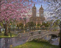 Robert Finale. Spring in the Park, Central Park New York