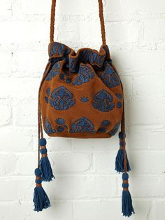 Free People Aries Embroidered Crossbody, ₴1047.95