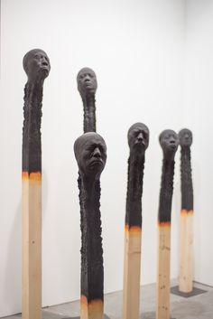 Wolfgang Stiller, Matchstickmen, Mark Hachem Gallery