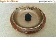 On Sale Vintage Walnut Cigar Holder  by PlasticPinkFlamingos