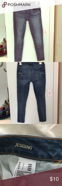 aeo jeans Jeggings. Size 2. WORN ONCE American Eagle Outfitters Jeans