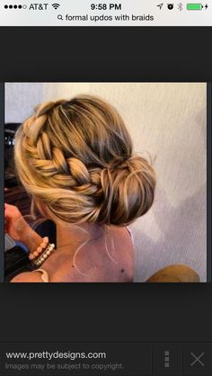 This is what Ive been waiting for! Definitely my hair styles tomorrow Junior Bridesmaid Hair Hair Ive Styles tomorrow waiting Side Bun Hairstyles, Pretty Hairstyles, Elegant Hairstyles, Latest Hairstyles, Medium Hairstyles, Beach Hairstyles, Country Hairstyles, Holiday Hairstyles, Fashion Hairstyles