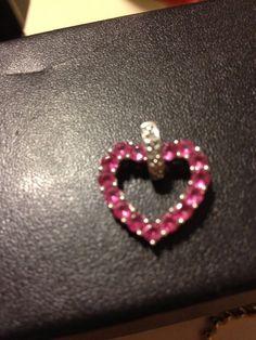 VINTAGE 10K white gold genuine 1 TCW carat pink by BargainBitz, $145.00