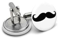 Mustache Cufflinks Mustache, Latest Trends, Cufflinks, Accessories, Moustache, Wedding Cufflinks, Moustaches, Jewelry Accessories