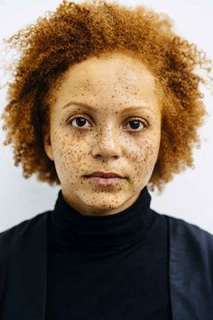 15 Portraits That Capture The Natural Beauty Of Redheads Of Color