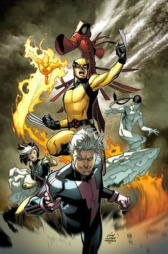 "total-comics-fan: "" comicsforever: "" New Ultimate X-Men // cover for ""Ultimate X-Men // pencils and inks by Paco Medina, colors by Marte Gracia Pazuzu "" more comics. Marvel Comics, Hq Marvel, Marvel Girls, Marvel Comic Books, Fun Comics, Comic Book Characters, Marvel Characters, Anime Comics, Comic Character"