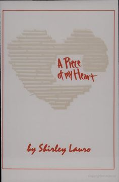 """""""A Piece of My Heart"""" was also a required reading for ENGL 1102. Alot of research was required for this class. We had to pick an argumentative topic on this play also. My group chose to argue that gender discrimination was the main theme of this play."""