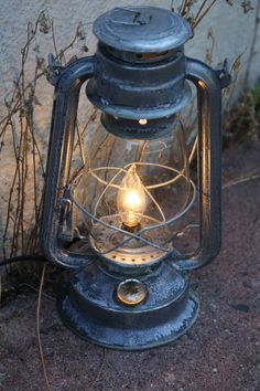 Your place to buy and sell all things handmade Outside Lanterns, Old Lanterns, Antique Lanterns, Hurricane Lanterns, Hanging Lanterns, Kerosene Lamp, Lantern Lamp, Steampunk Lamp, Handmade Lamps