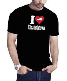 I Love Elizabethtown Kentucky Black