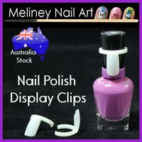nail polish display clips