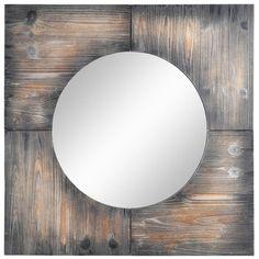 "Laurent Wall Mirror 31""x31"" $120 at Joss & Main"