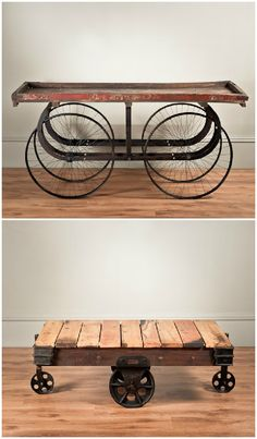 Uniche Industrial Furniture  Can we use upcycled materials?