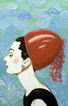 """""""Audrey In Paris"""" 48 x 72"""
