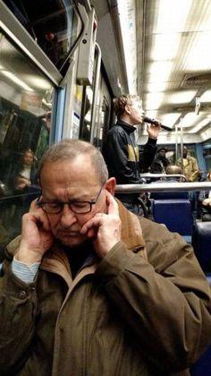 Great music at public transportation