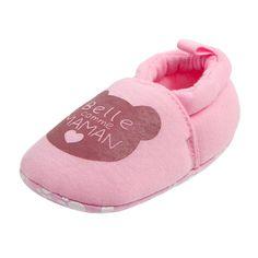Kimloog Baby Girls Winter Warm Flower Weave Ankle Boots Fleece Princess Shoes