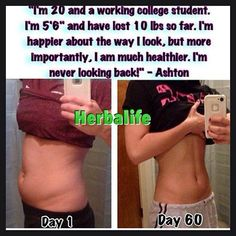 She not only lost weight she states but she also is healthier!!! :)))